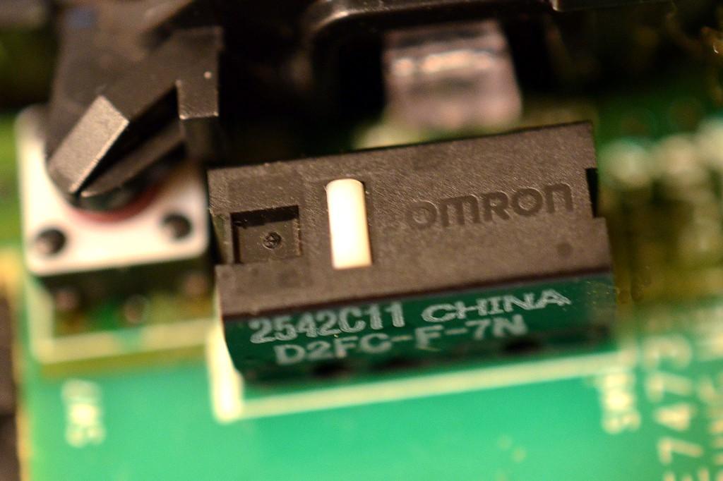 ロジクール M510 スイッチ OMRON オムロン